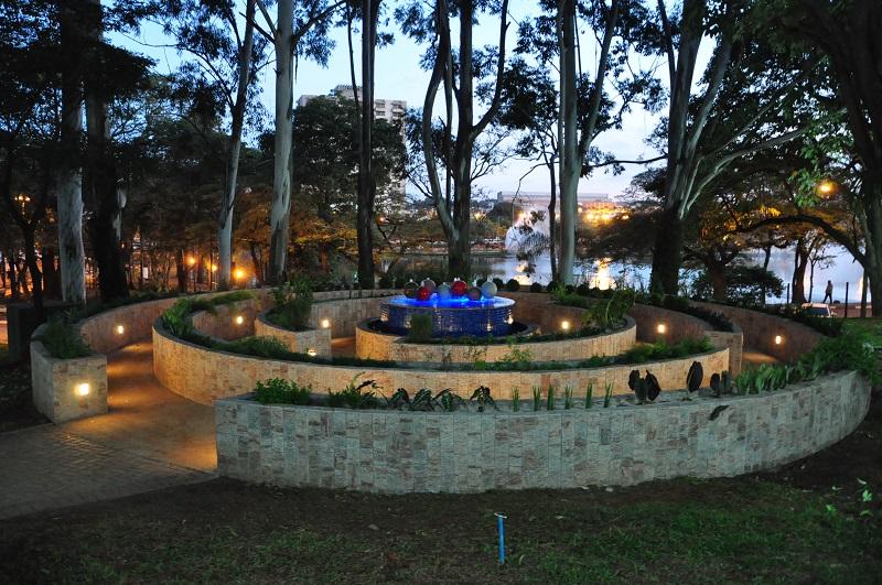 plantas jardim sensorial : plantas jardim sensorial:Outra novidade é o jardim sensorial. Construído na entrada do parque
